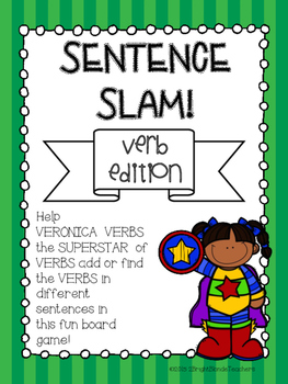 {{Sentence Slam Board Game! Verb Edition}}