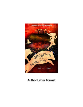 """Serafina and the Twisted Staff"" Letter to the Author"