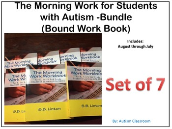 (Set of 7) Bound Workbook: Morning Work for Students with