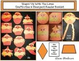 """Shapin' Up With Seuss!"" Lorax 2D & 3D Shape Craftivity, G"