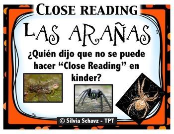"""¡Si se puede hacer """"Close Reading"""" con los más pequeños! -"""