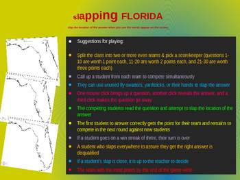 """Slapping"" Florida: an epic game to locate cities, geograp"