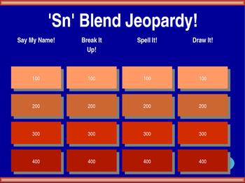 'Sn' Blend Jeopardy!