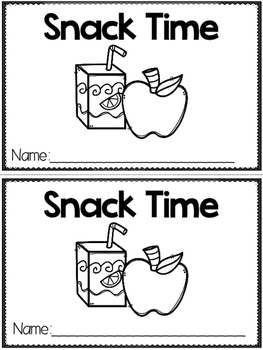 """""""Snack Time"""" (A Back to School Emergent Reader Dollar Deal)"""