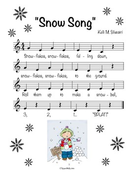 """Snow Song"" (score only)"