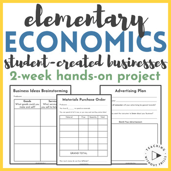 {Social Studies} Economics: Student Business (Goods, Servi