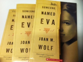 """""""Someone Named Eva"""" books, by Joan M. Wolf  - Literature C"""