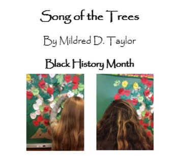 """""""Song of the Trees"""" Black History Month; Bundle; Printables"""
