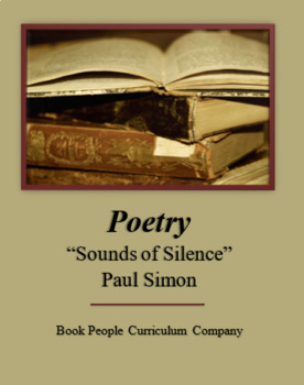 """Sounds of Silence"" -- Paul Simon -- Poetry -- Song"