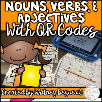 Nouns, Verbs, and Adjectives with QR Codes