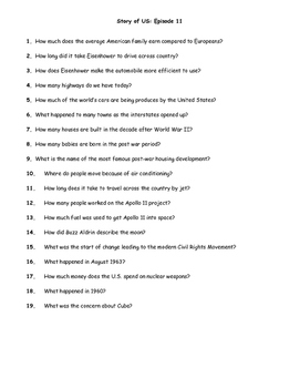 """""""Story of US"""" Movie Questions - Episode 11"""