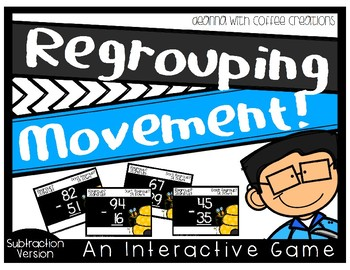 {Subtraction Version} Regrouping - No Regrouping Interactive Game