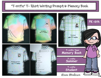 """""""T""""-'rrific Writing Prompt & Memory Book For The End or Be"""