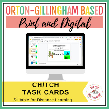 -TCH Rule Task Box (Orton-Gillingham)