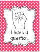 Classroom Management Hand Signal Posters - Polka Dots