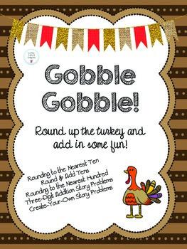 *Thanksgiving* Rounding & Adding
