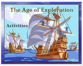 """""""Europe in the Age of Exploration"""" - Activities"""""""