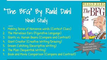 """""""The BFG"""" Novel Study"""