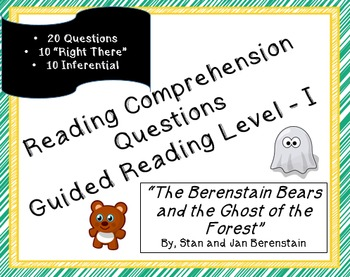 """""""The Berenstain Bears and the Ghost of the Forest"""" 20 read"""