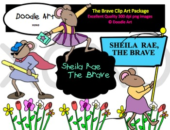 """""""The Brave"""" Clipart Pack"""