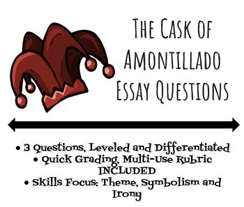 """The Cask of Amontillado"" Differentiated Assessment"