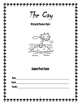 """""""The Cay"""" Read-Along Packet"""