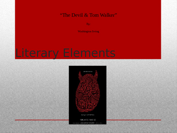 """""""The Devil and Tom Walker"""" Interactive PowerPoint"""