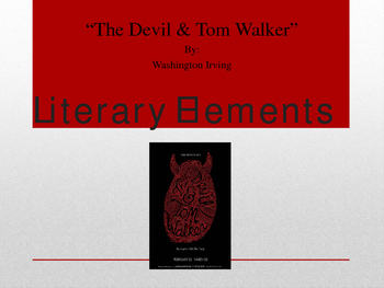 """The Devil and Tom Walker"" Teachers' Bundle Unit"