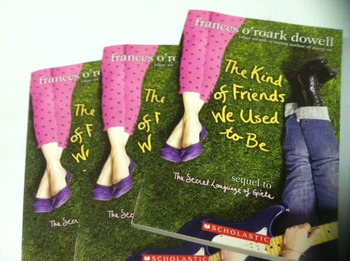 """The Kind Of Friends We Used To Be"" books (Frances O'Roark"
