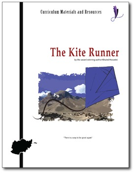 """The Kite Runner"" EDITABLE COMPLETE UNIT Activities,Tests,"