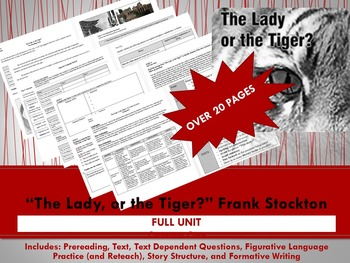 """The Lady, or the Tiger?"" Full Unit"