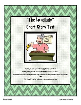 """The Landlady"" by Roald Dahl Final Exam Test"