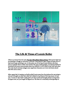 """The Life & Times of Lonnie Keller"" A Short Story"
