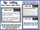 """""""The Lottery"""" by Shirley Jackson Task Cards with EDITABLE"""