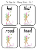 """The Magic Hat"" Rhyming words games and more!"