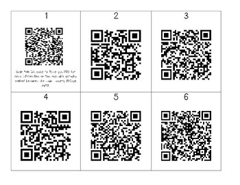 """""""The Man Who Walked Between the Towers"""" QR Codes"""