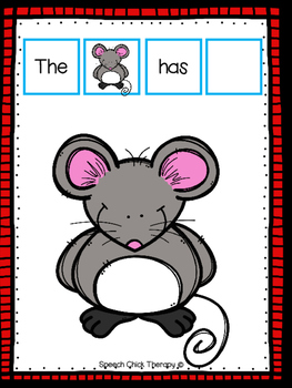 """""""The Mouse Has..."""" Board"""