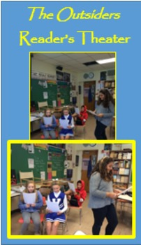 """""""The Outsiders"""" Chapter 3; Reader's Theater with Exit Acti"""