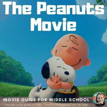 """""""The Peanuts Movie"""" Study Guide-Common Core Aligned for Mi"""