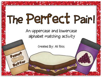 {The Perfect Pair!} Uppercase and Lowercase Matching