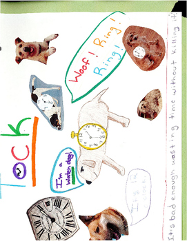 """""""The Phantom Tollbooth"""" Collage Activity Examples"""