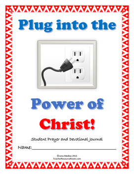 'The Power of Prayer' Bible Study Journal