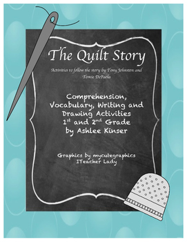 """""""The Quilt Story"""" by Tomie DePaola - Vocabulary, Comprehen"""