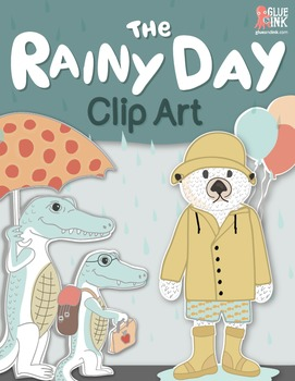 """The Rainy Day"" Clip Art  – Commercial-Use"