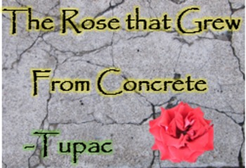 """The Rose that Grew From Concrete"" Black History Month; Tu"