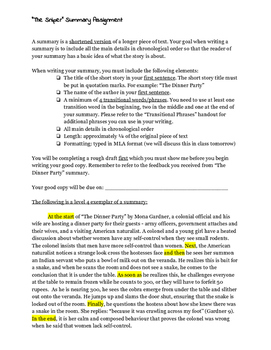 """""""The Sniper"""" by Liam O'Flaherty Summary Assignment"""