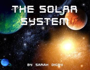 """""""The Solar System"""" – Original Book/Slideshow, 3rd-Grade Le"""