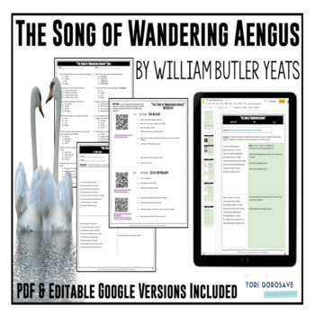 """Poetry Lesson: """"The Song of Wandering Aengus"""" by Yeats {Go"""