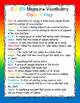 """The Superkids Take Off"" Super Magazine Vocabulary Lists"