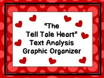 """The Tell Tale Heart' by Edgar Allan Poe Text Analysis Gra"